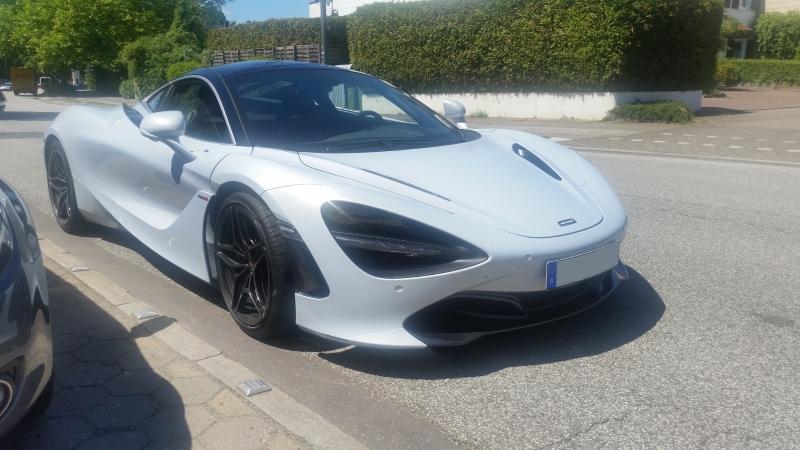McLaren 720S - Versicherungsbeispiel